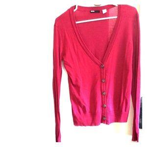 BDG Crimson Cardigan